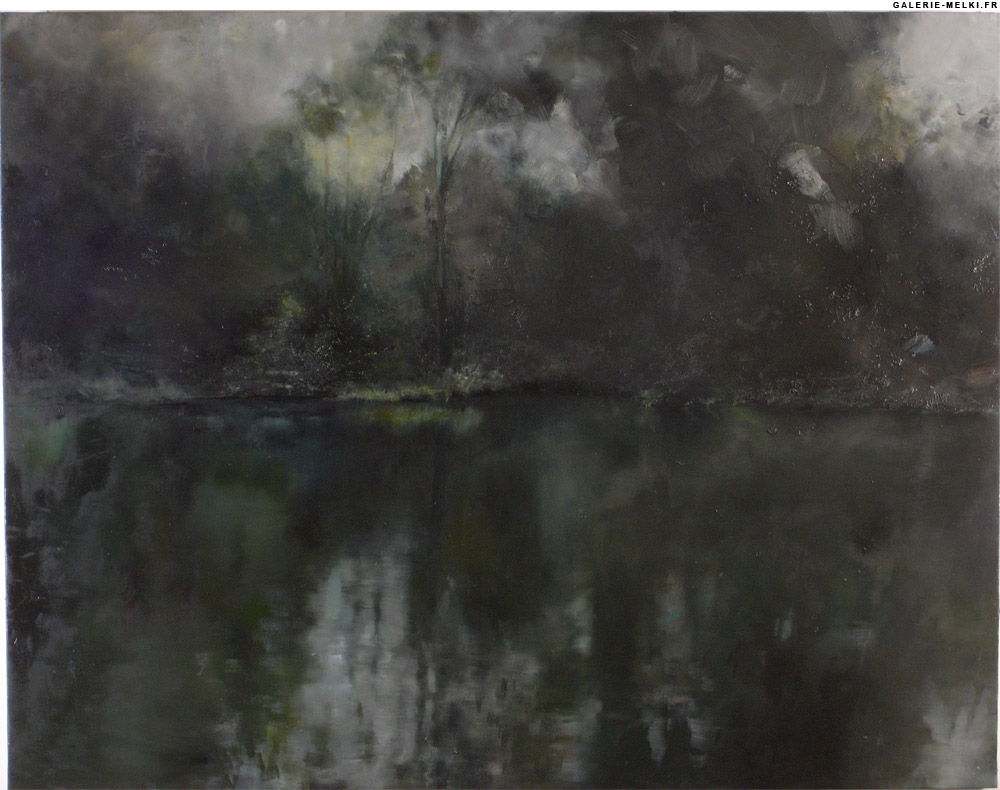 """ROSENTHAL, Clément. Untitled 368. (Ref#: 570 ).<br />2008. Oil on canvas. Size in Cm: 146 x 114. <br /> <a href=""""http://www.galerie-melki.fr/content/rosenthal-clement/untitled-368"""">[More Information]</a> <br /><br />"""