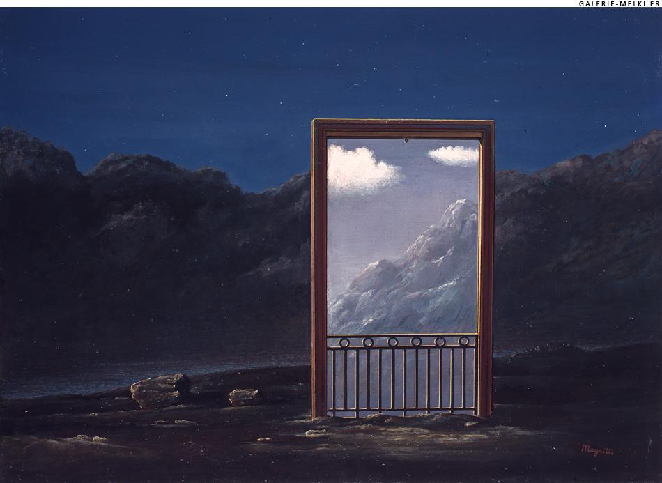 Magritte rene galerie melki for Magritte le faux miroir