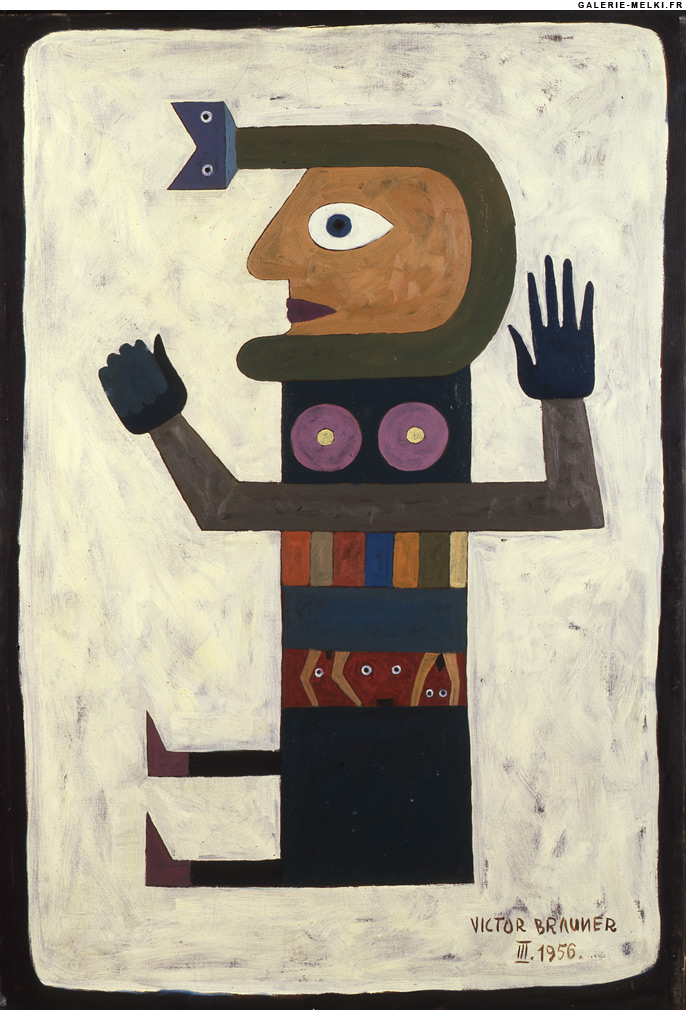 Victor - Victor brauner loup table ...